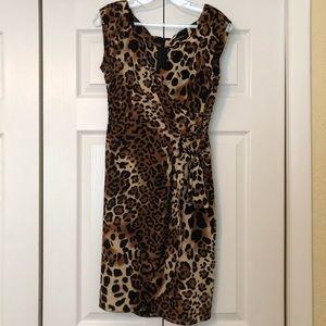 Nanette Lepore Leopard Dress